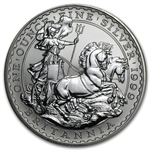 1999 1 oz Silver Britannia (Brilliant Uncirculated)